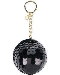 MICHAEL Michael Kors Key Ring - Black