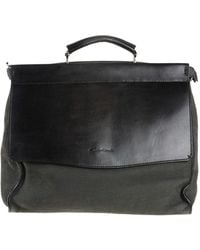 Santoni Work Bags - Black