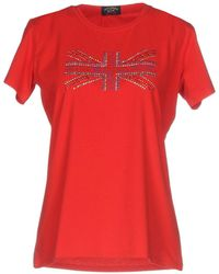 Paul & Shark T-shirt - Rouge