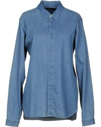 White Mountaineering - Denim Shirt - Lyst