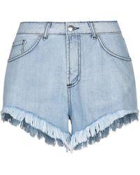 Jijil Denim Shorts - Blue