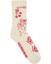 Gcds Socken & Strumpfhosen - Weiß