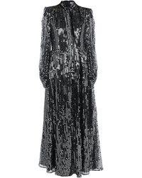 MSGM Robe longue - Noir