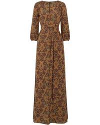 Vanessa Seward Long Dress - Brown