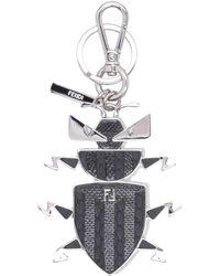 Fendi Key Ring - Metallic