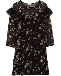 SUNO Short Dress - Black