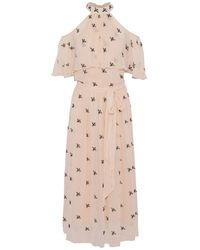 Temperley London 3/4 Length Dress - Pink