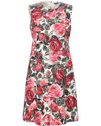 Dolce & Gabbana Short Dress - Red