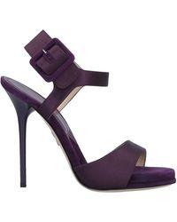 Paul Andrew Sandals - Purple
