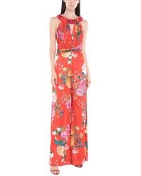 Clips Jumpsuit - Red