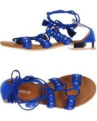 Glamorous Sandals - Blue