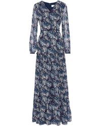 Mikael Aghal Long Dress - Blue