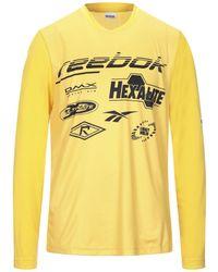 Reebok T-shirt - Yellow