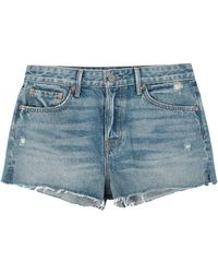 GRLFRND Shorts vaqueros - Azul