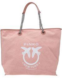Pinko Shoulder Bag - Pink