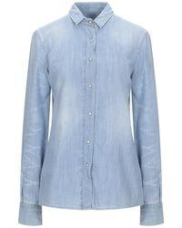 Frankie Morello Denim Shirt - Blue