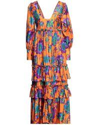 La DoubleJ Vestido largo - Naranja