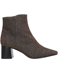 Flattered Ankle Boots - Brown