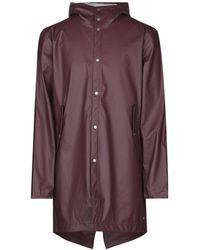 Herschel Supply Co. Overcoat - Purple