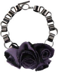 Emporio Armani Necklace - Purple