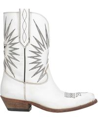Golden Goose Deluxe Brand Ankle Boots - White