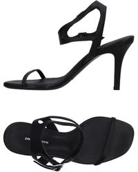 Paco Rabanne Sandals - Black