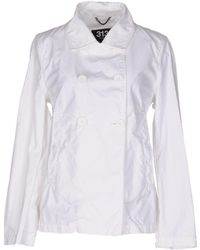 313 Tre Uno Tre Jacket - White