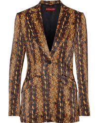 ALEXACHUNG Suit Jacket - Brown