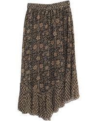 Leon & Harper Midi Skirt - Black