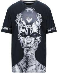 Frankie Morello Graphic Print T-shirt - Black