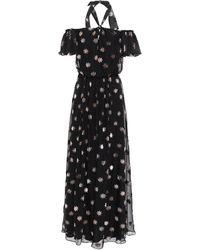 Temperley London Vestito lungo - Nero