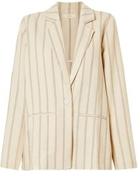 Matin Suit Jacket - Natural