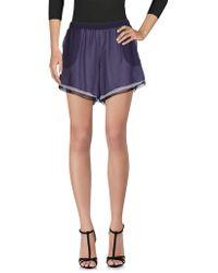 Prabal Gurung Shorts - Purple
