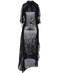 Paula Knorr 3/4 Length Dress - Black