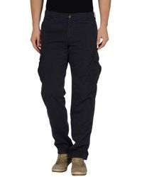 40weft Casual Trousers - Black