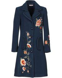 Blugirl Blumarine Coat - Blue