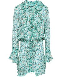 Anna Sui Short Dress - Blue