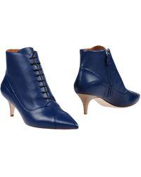 M Missoni Ankle Boots - Blue