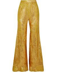 Halpern Casual Trouser - Metallic