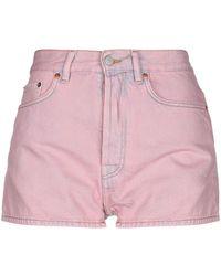 Acne Studios Denim Shorts - Pink