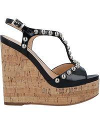 Luciano Padovan Sandals - Black