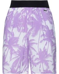 Armani Exchange Shorts & Bermuda Shorts - Purple