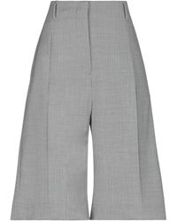 Eleventy Cropped Trousers - Grey