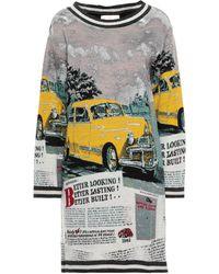 Lafty Lie Short Dress - Brown