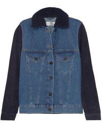 Victoria, Victoria Beckham Denim Outerwear - Blue