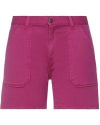 Ba&sh Denim Shorts - Purple