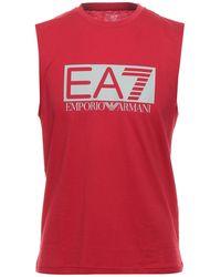 EA7 T-shirt - Rosso