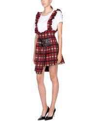 Marco Bologna Mini Skirt - Red