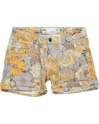 Roy Rogers Denim Shorts - Multicolour