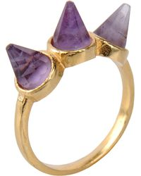First People First Bague - Violet